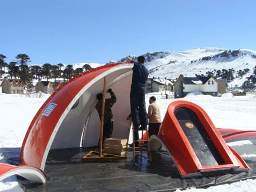 Refugio argentino Antartida
