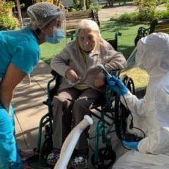 Coronavirus: mujer chilena de 111 años se recupera del virus