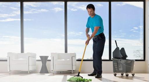 servicio de limpieza edificios.