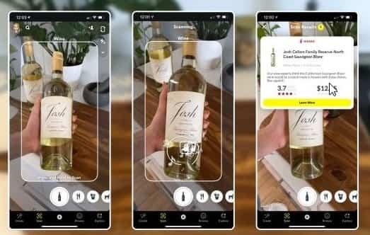 Snapchat puede escanear