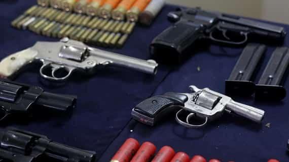 Escobar se destruyeron más armas