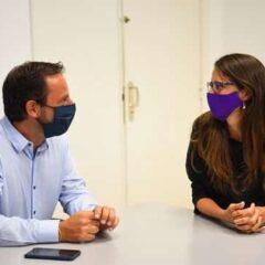 Escobar y la Ministra Eli Gómez Alcorta firmaron convenios de ampliación de derechos e igualdad de género
