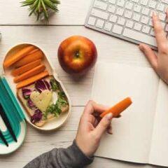 Fitness en la oficina: conocé como promover una alimentación sana en trabajo