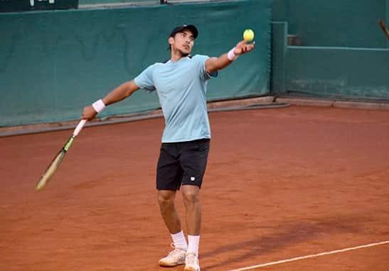 Juani Galarza ganó un torneo de dobles en Egipto