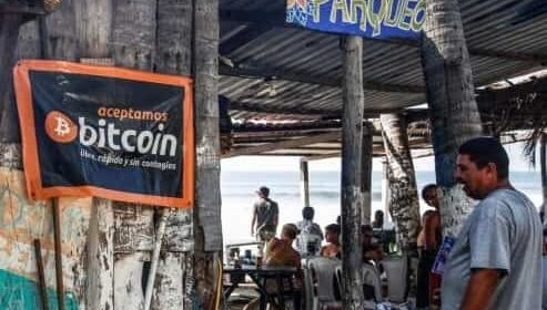 """El FMI advierte a El Salvador por aprobar la """"Ley bitcoin"""""""