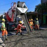 Obras en Escobar: avanzan los trabajos en Av. 25 de mayo