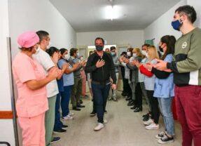 Sujarchuk pide licencia para continuar con su recuperación tras superar el covid