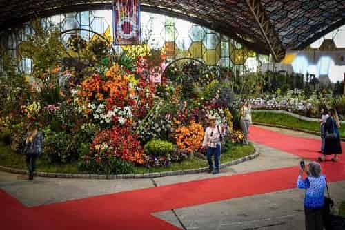 Fiesta Nacional de la Flor en Escobar